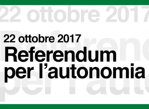 REFERENDUM AUTONOMIA DELLA LOMBARDIA 22/10/2017